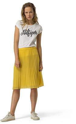 Citron Pleated Skirt $89.50 thestylecure.com