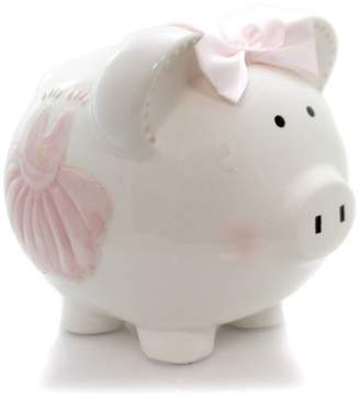 "Child to Cherish 7.5"" Sparkle Dress Piggy Bank Money Fairy Tale"