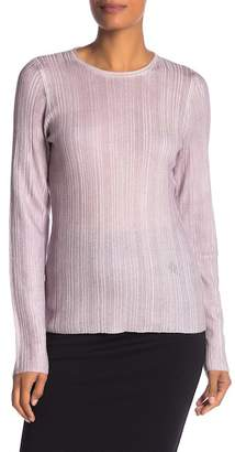 Elie Tahari Avandi Wool Metallic Sweater