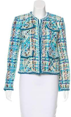 Chanel 2017 Paris-Cuba Tweed Muslin Jacket