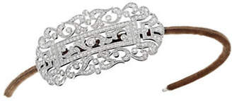 Belle Epoque ANDREW PRINCE BY CRISLU Bridal Headband