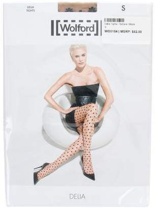 Wolford Delia Floral Tights w/ Tags