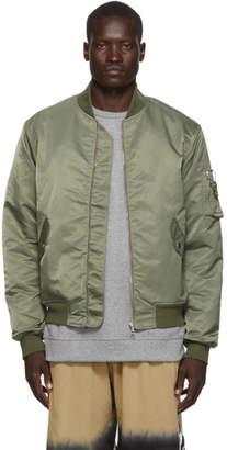 John Elliott Green Bogota II Bomber Jacket