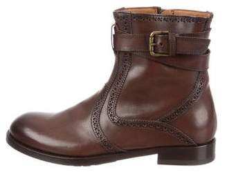 Antonio Maurizi Leather Ankle Boots w/ Tags