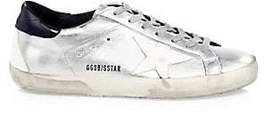 Golden Goose Men's Men's Metallic Superstar Sneakers