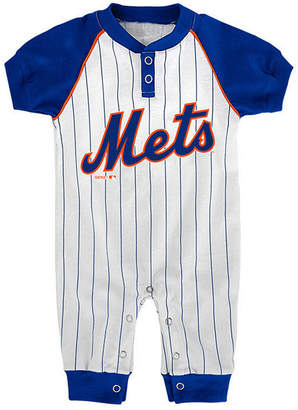 Game Time Outerstuff New York Mets Gametime Coverall, Infants (0-9 Months)