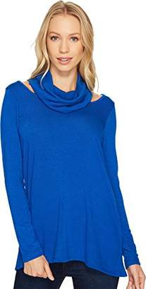 Karen Kane Women's Cut-Out Cowl Neck Sweater