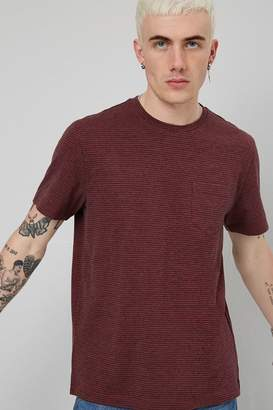 Forever 21 Patch Pocket Striped Tee