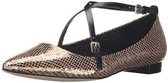 Nine West Women's Anastagia Metallic Pointed Toe Flat