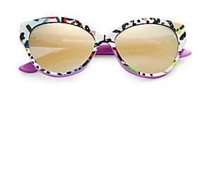 Cat Eye Cutler and Gross Cutler and Gross Women's Tequila Sunrise 56MM Sunglasses
