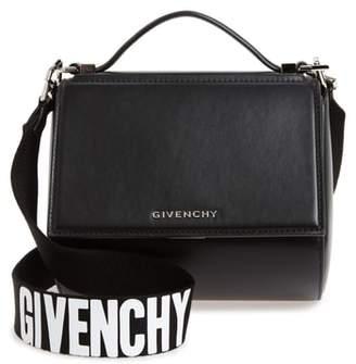 Givenchy Mini Pandora Box Leather Shoulder Bag