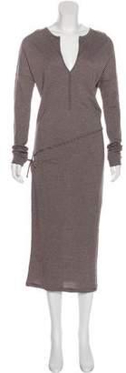 Humanoid Striped Midi Dress