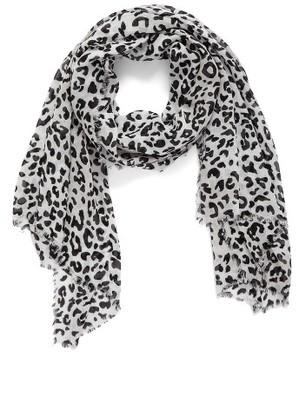 Women's Nordstrom Leopard Print Wrap $25 thestylecure.com