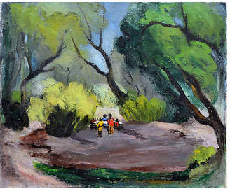 One Kings Lane Vintage Picnic in the Park by Faye Morgan Taylor - Robert Azensky Fine Art Art