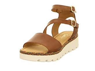 Gabor 22.824 Women,Wedge Sandals,Summer Shoes,Comfortable,Flat