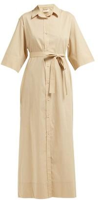 BEIGE Matteau - The Shirt Cotton Poplin Maxi Dress - Womens