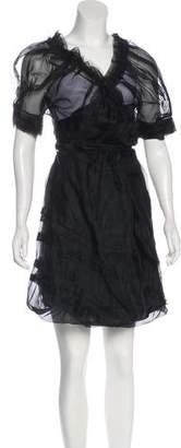 Ermanno Scervino Wrap Midi Dress