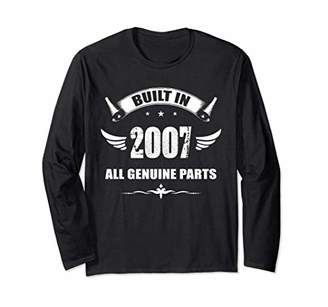 Made In 2007 Vintage 11th Birthday Long Sleeve Shirt Gift L1