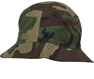 24fb374d Crosshatch Mens Bucket Hat Green