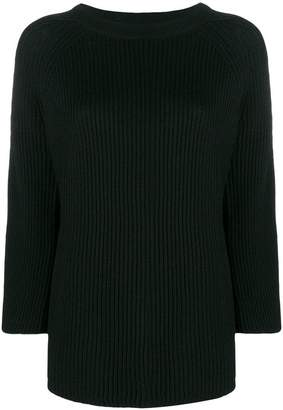 Stefano Mortari rib knit oversized sweater