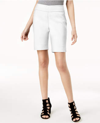 INC International Concepts I.n.c. Curvy-Fit Stud-Trim Bermuda Shorts, Created for Macy's