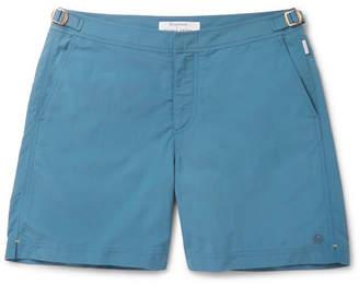 b10e6af994 Kingsman + Orlebar Brown Bulldog Mid-Length Swim Shorts