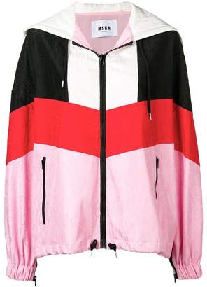 MSGM colour-block jacket