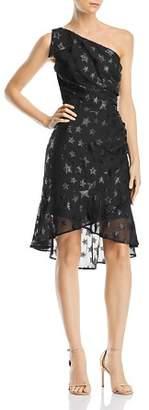 Aqua One-Shoulder Star Dress - 100% Exclusive