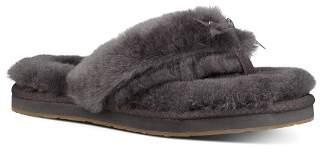 UGG Women's Fluff Sheepskin Flip-Flops