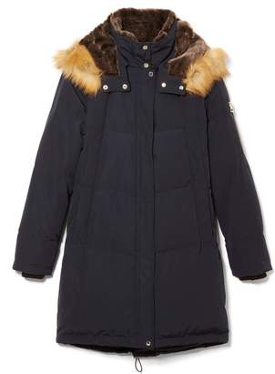Vince Camuto Detachable Hood Down Coat