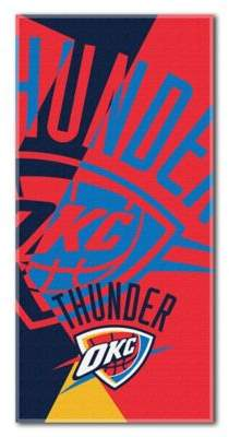 NBA Oklahoma City Thunder 34-Inch x 72-Inch Beach Towel