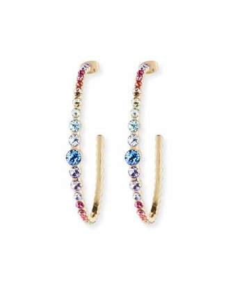 Lulu Frost Rainbow Hoop Earrings