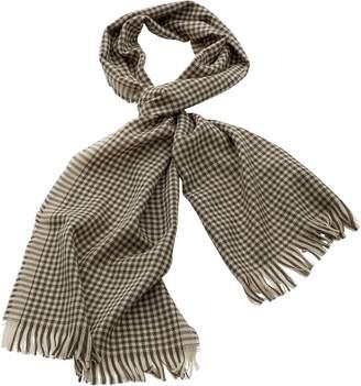 Georges Rech Pariscarves Wool Checkered Muffler