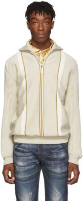 Martine Rose Beige Custom Sweater