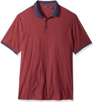 Perry Ellis Men's Big and Tall Essential End Polo
