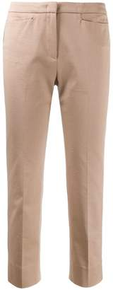 Peserico ribbed skinny cropped trousers