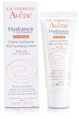 Avene NEW Hydrance Optimale UV Rich Hydrating Cream SPF 20 - For Dry to Very