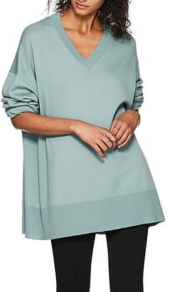 The Row Women's Sabrina Cashmere Relaxed Sweater - Blue