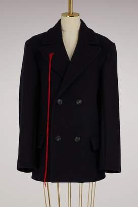 Maison Margiela Wool pea coat