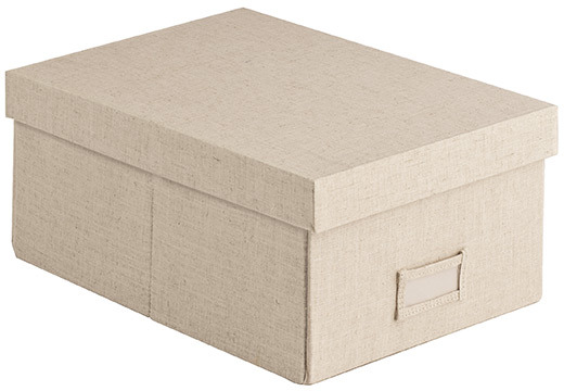 Container Store Linen Shirt Box