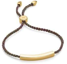 Monica Vinader 18K Yellow Goldplated Linear Friendship Bracelet
