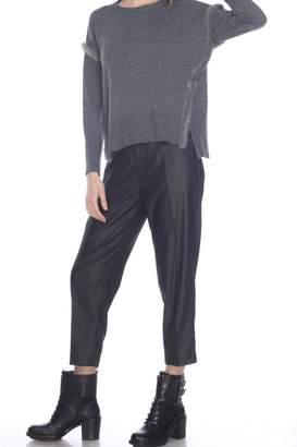 Zero Degrees Celsius Fur Trim Sweater