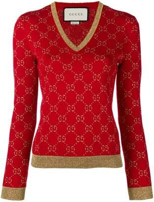 Gucci (グッチ) - Gucci GGパターン セーター