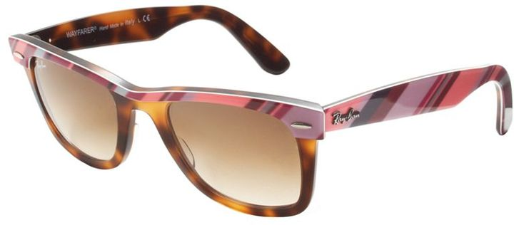 Ray-Ban Sunglasses, Stripe Wayfarer