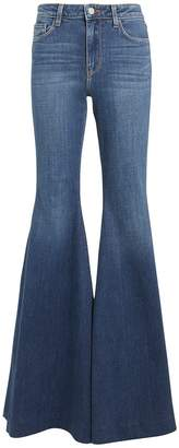 L'Agence Lorde High-Rise Flare Jeans