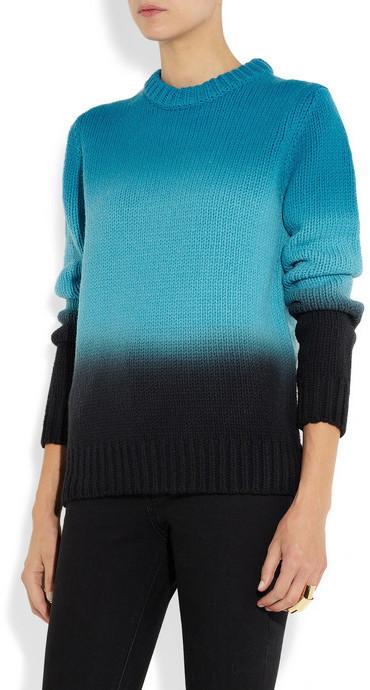 Proenza Schouler Ombré wool sweater