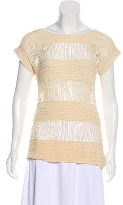 Marc by Marc Jacobs Open Knit Short Sleeve Top w/ Tags