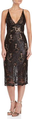 Dress the Population Angela Sequin Midi Dress