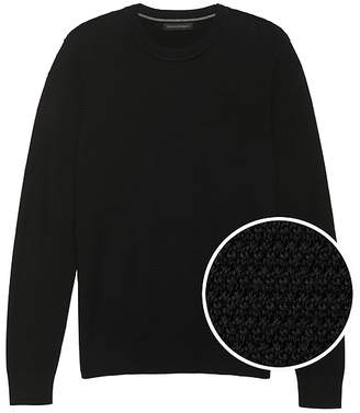 Banana Republic SUPIMA® Cotton Crew-Neck Sweater
