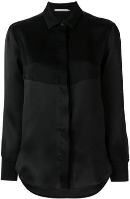 L'Autre Chose textured panel shirt